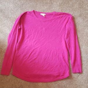Women's Sweet Romeo Sweater XLarge Pink